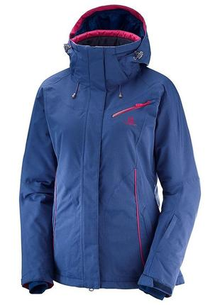 Женская куртка от salomon advanced skin dry куртка для горнолыжного спорта