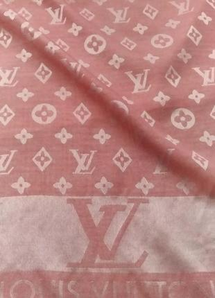 Louis vuitton палантин шарф