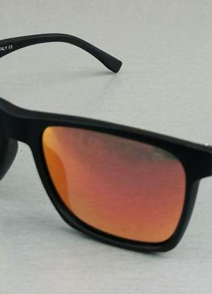 Lacoste очки мужские солнцезащитные оранжевые зеркальные