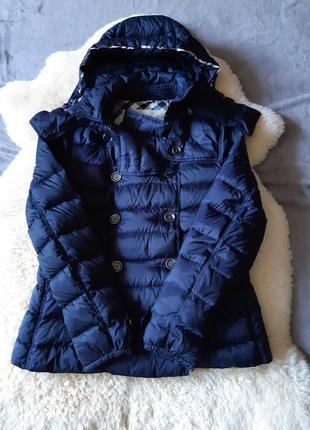Женская деми куртка ультралегкий пуховик burberry brit