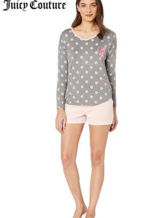 Лонгслив, кофта,  верх от пижамы juicy couture, размер  m