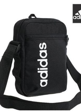Новая оригинальная сумка на плечо adidas linear core organizer bag / сумка на пояс