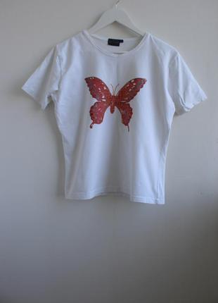 Базовая футболка с бабочкой biaggini
