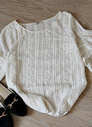 Блуза, с набивным орнаментом,вещи в наличии💚+скидки, заходите💚