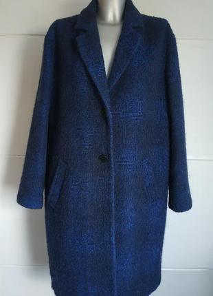 Стильное шерстяное пальто-кокон john lewis, модного кроя оверсайз