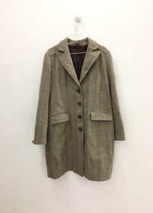 Крутое оригинальное пальто в рубчик бойфренд  акция! 1+1=3 на всё🎁