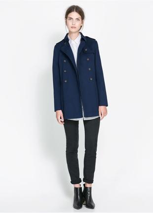 Шикарное двубортное пальто тренч из хлопка стиль бойфренд  акция! 1+1=3 на всё🎁