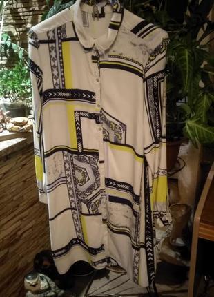 Только сутки такая цена!!! платье - рубашка river island