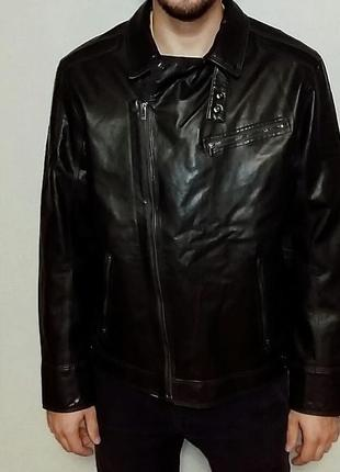 Куртка мужская из искуственной кожи calvin klein xl