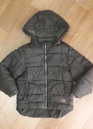 Теплая курточка#мальчик#6-7лет