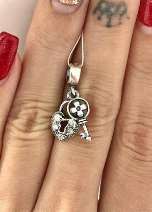 Шарм серебро 925 в стиле пандора луи витон 3503