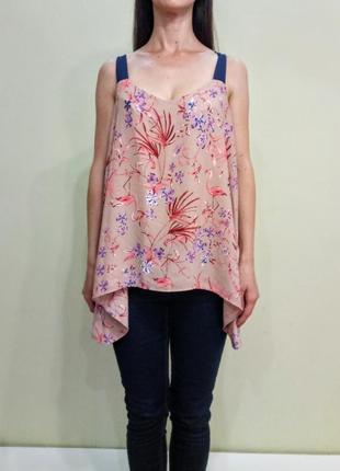 Красивая блуза с завязками