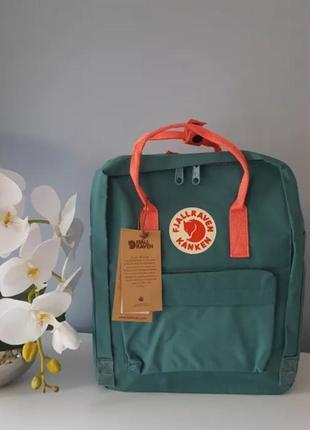 Рюкзак fjallraven kanken канкен портфель сумка classic 16 литров бирюзовый