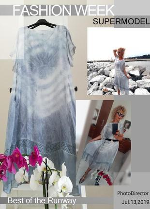 Шёлковое платье италия