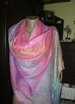 Шикарний нереально класний шарф-палантин pashmina j.s ondo.