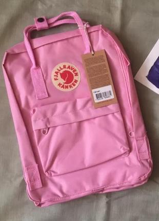 Рюкзак fjallraven kanken канкен портфель сумка classic 16 литров розовый