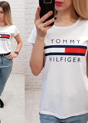 Футболка с логотипом tommy hilfiger, турция