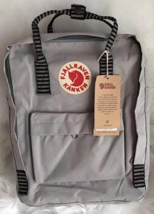 Рюкзак fjallraven kanken канкен портфель сумка classic 16 литров серый