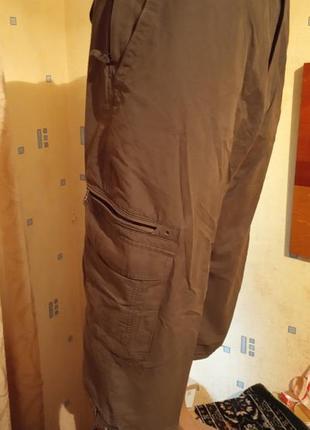 Бриджи карго длинные шорты marks & spencer