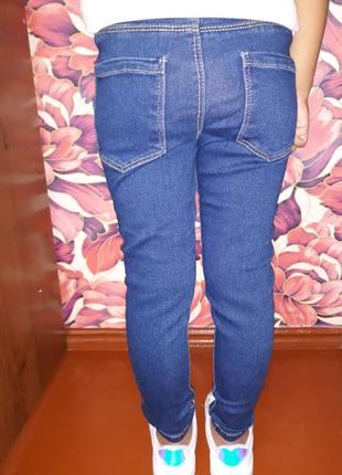 Джегинсы,джинсы,лосины,леггинсы из денима,джинсовые леггинсы,скинны,узкачи1,5-7лет5 фото