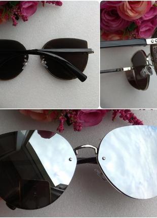 Новые красивые очки бабочки с боковой защитой, зеркальные