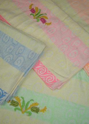 Лицевое полотенце махровое код 0088