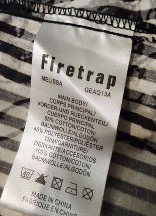 Удлинённая рубашка туника платье firetrap5 фото