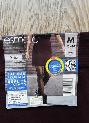 Красивая мини юбка цвета марсала esmara