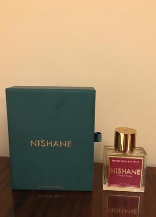 Нишевый парфюм nishane hundred silent ways