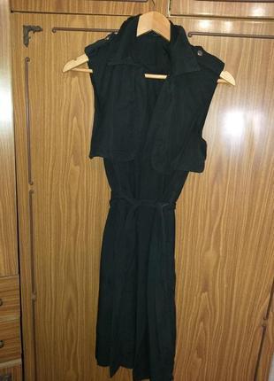 Дизайнерское платье сарафан на запах