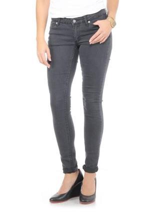 Стильные джинсы 33 (наш 42-44), cheap monday slim, швеция, темно-серые