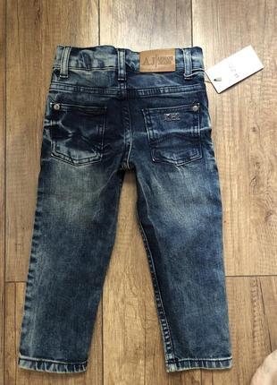 Детские джинсы 12-18м