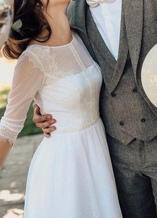 Cвадебное платье 2019