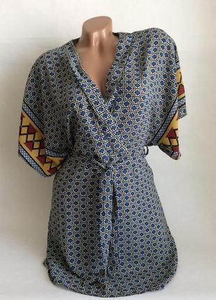 Платье кимоно glamorous с пояском широкие рукава
