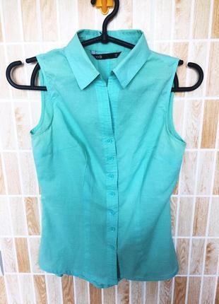 Нежная хлопковая блуза от oodji