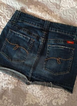 Джинсовая мини-юбка guess