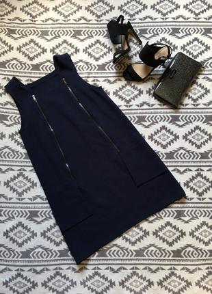 Красивейшее платье сарафан  с молниями и карманами  акция! 1+1=3 на всё🎁