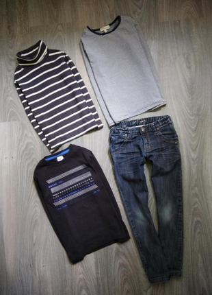 7л набор лонгвивы и гольф джинсы в подарок