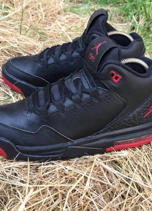 Оригинальные кожаные кроссовки nike jordan flight origin 2 (705160-014)