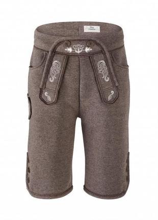 Стильные мужские шорты для октоберфест р.l  от тсм tchibo, цвет серый2 фото