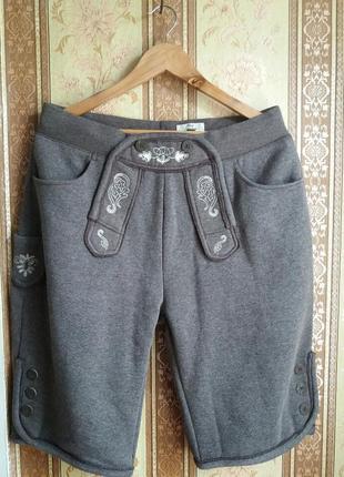Стильные мужские шорты для октоберфест р.l  от тсм tchibo, цвет серый4 фото