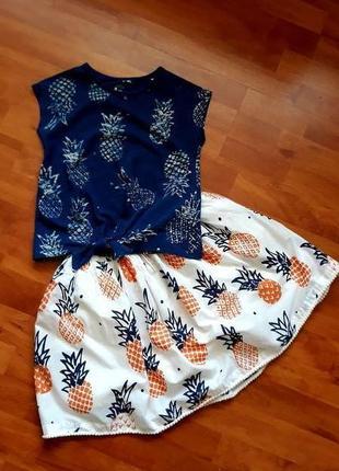 Майка + юбка