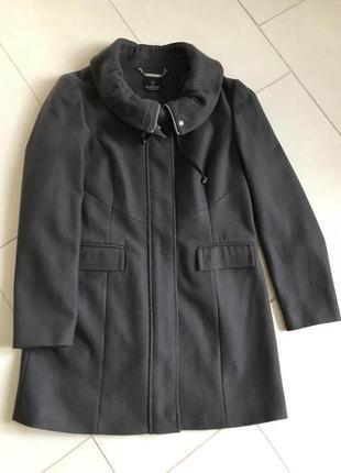 Тренч шерстяной демисезонный стильный модный дорогой бренд madeleine размер 38-40
