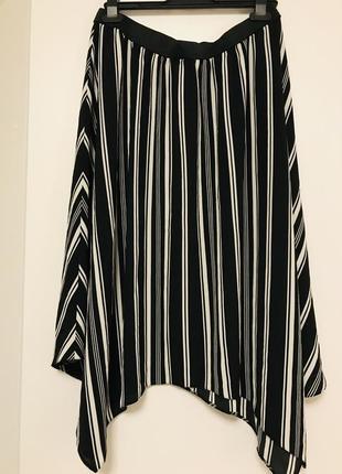 Оригинальная ассиметричная юбка primark.