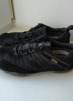 Кожаные туфли мокасины viking gore-tex 37р.