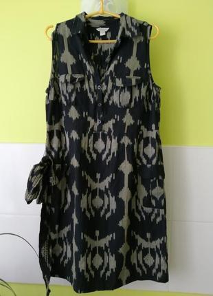 Коттоновое платье рубашка от monsoon