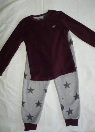 Флисовый костюм на 7-8 лет