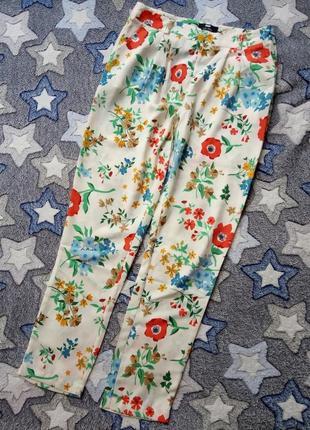 Летние легкие яркие брюки