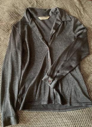 Крутейшая блестящая блуза от dorothy perkins, винтаж