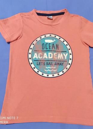 Классная, качественная футболка 3-4 года